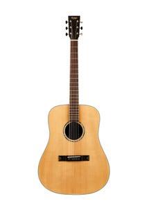 Tasman Captain TA200-E Dreadnaught Acoustic/Electric Guitar w/Case