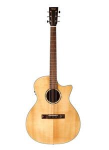 Tasman Captain TA200GS-CE Grand Symphony Cutaway Acoustic/Electric Guitar