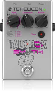 TC Helicon Talkbox Synth Guitar/Vocal Effect Pedal