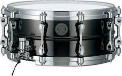 Tama Starphonic Black Nickel Steel 14x6 Snare Drum