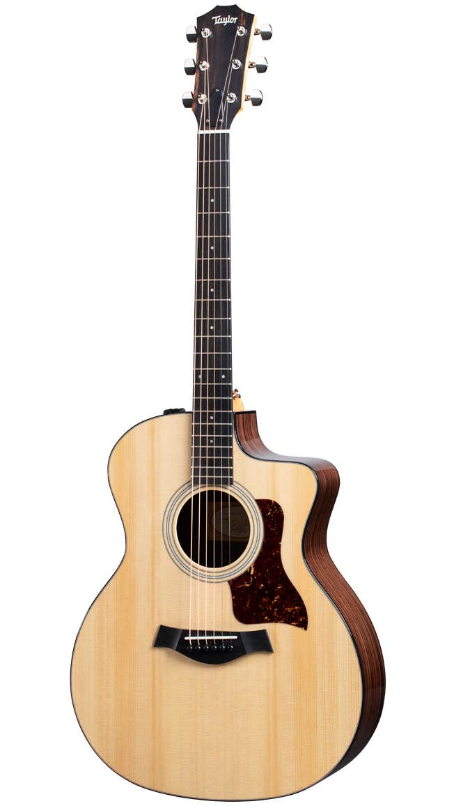 Taylor 214ce Plus Acoustic Electric Guitar w/Aerocase - Spruce / Rosewood