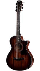 Taylor 362ce 12-String Acoustic Electric Guitar w/Case - Mahogany / Blackwood