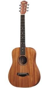 """Taylor BT2 """"Baby Taylor"""" Acoustic Guitar w/Hard Bag - Mahogany"""