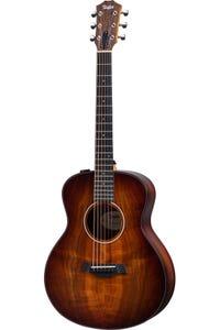 Taylor GS Mini-e Koa PLUS Acoustic Electric Guitar w/Aerocase - Shaded Edgeburst