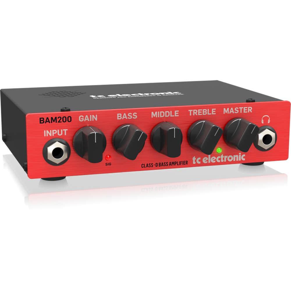 TC Electronic BAM200 Ultra Compact Bass Amp Head