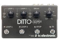 TC Electronic Ditto X4 Looper Pedal (TC-DITTO-X4)