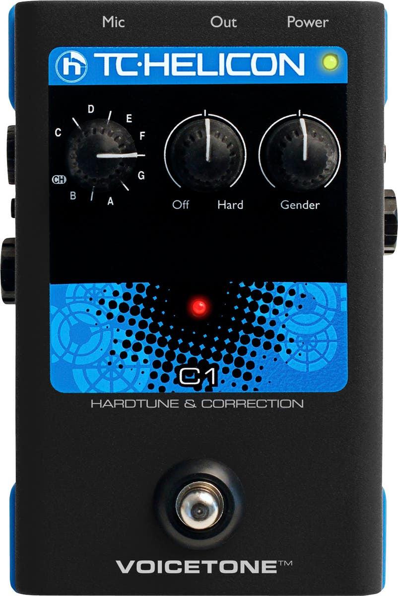 TC Helicon VoiceTone C1 Hard-Tune & Correction Pedal