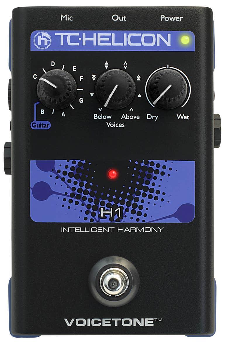 TC Helicon VoiceTone H1 Intelligent Harmony Pedal