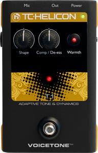 TC Helicon VoiceTone T1 Adaptive Tone & Dynamics Pedal