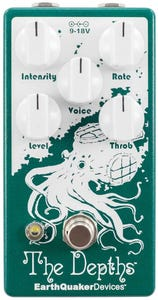 EarthQuaker Devices The Depths v2 Optical Vibe Pedal