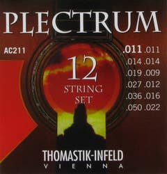 Thomastik Plectrum 12-String Acoustic Guitar Strings - 11-50
