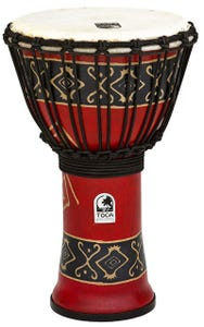 """Toca Freestyle 2 Series 9"""" Djembe - Bali Red"""