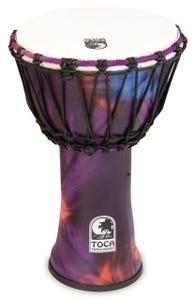 "Toca Freestyle 2 Series 9"" Djembe - Woodstock Purple"