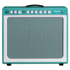 """Tone King Imperial MKII 1x12"""" Guitar Amp Combo - Turquoise"""