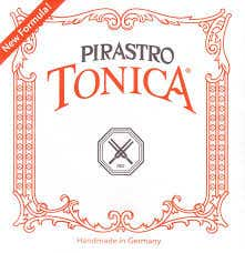 Pirastro Tonica 3/4-1/2 size Violin strings set silver steel