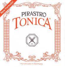 Pirastro Tonica 4/4 size Violin strings set silver steel