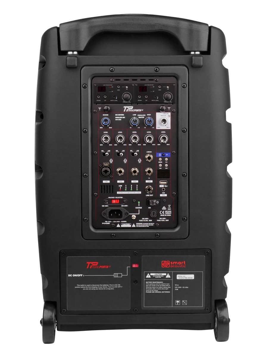 Smart Acoustic TRANSPORTA 12 Portable PA System (520-542MHZ)