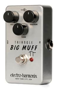 Electro Harmonix Triangle Big Muff Pi Fuzz/Distortion Pedal