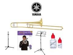 Yamaha YSL154 Trombone Quality Start-up Package (YSL-154)!