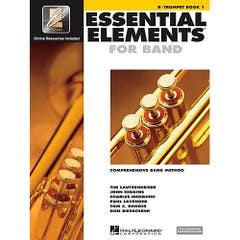 essential elements for band book 1 trumpet  (HAL LEONARD)