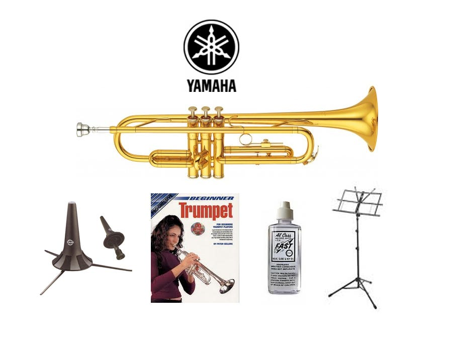 Yamaha YTR2330 Trumpet Quality Start-up Package (YTR-2330)!