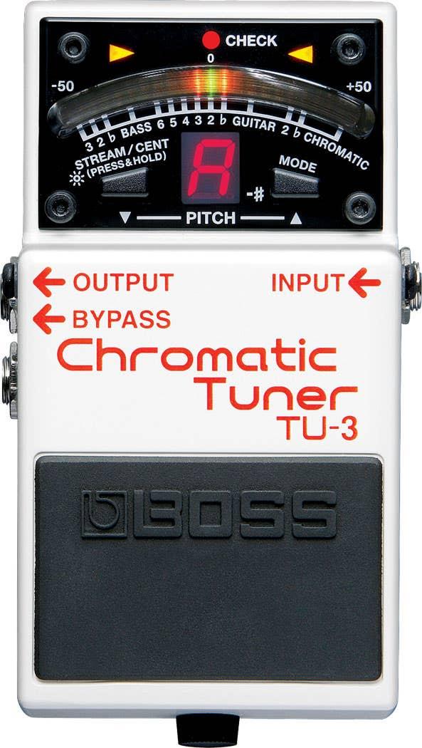 Boss TU-3 Chromatic Tuner (TU3)