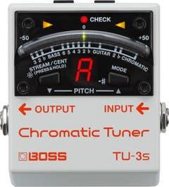 Boss TU-3S Small Footprint Chromatic Tuner (TU3S)v