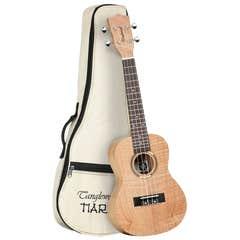 Tanglewood Tiare TWT6B Concert Ukulele w/Gigbag - Flame Mahogany