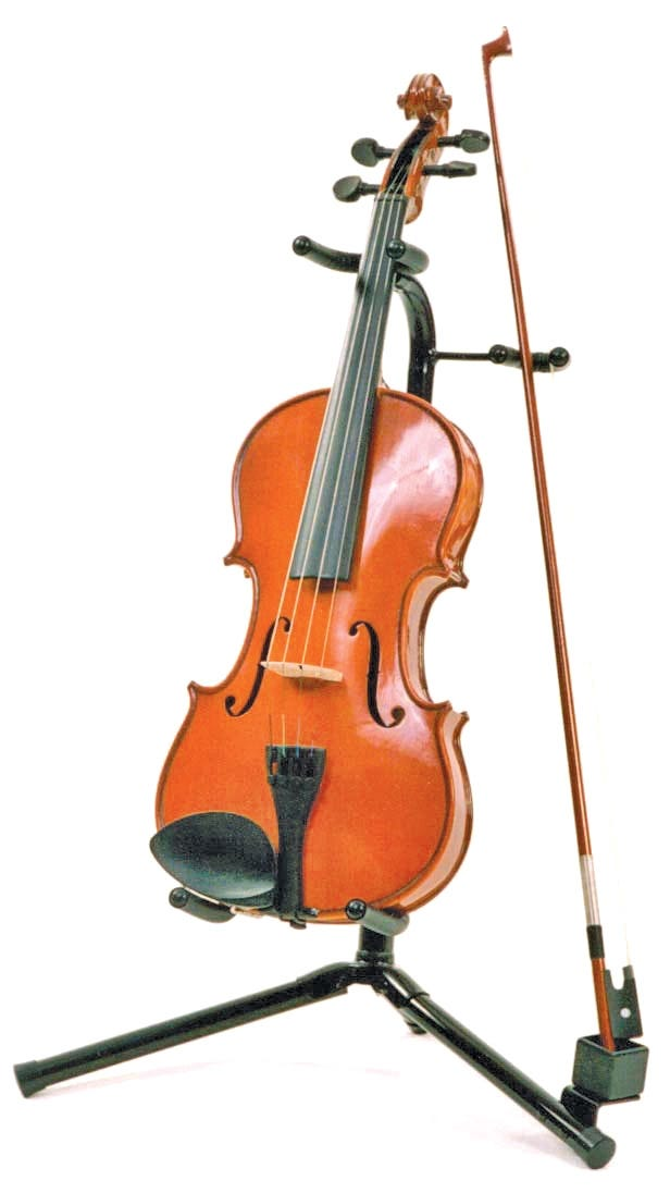 Violin Stand with bow attachment