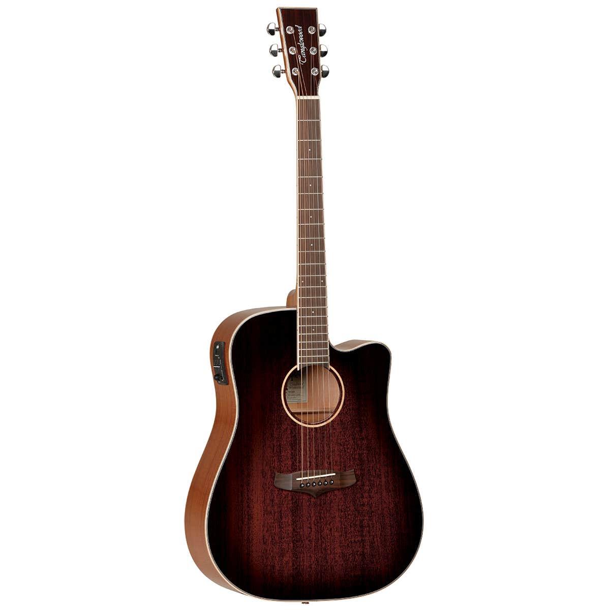 Tanglewood TW5AVB Winterleaf Acoustic Electric Guitar - Antique Vintage Burst