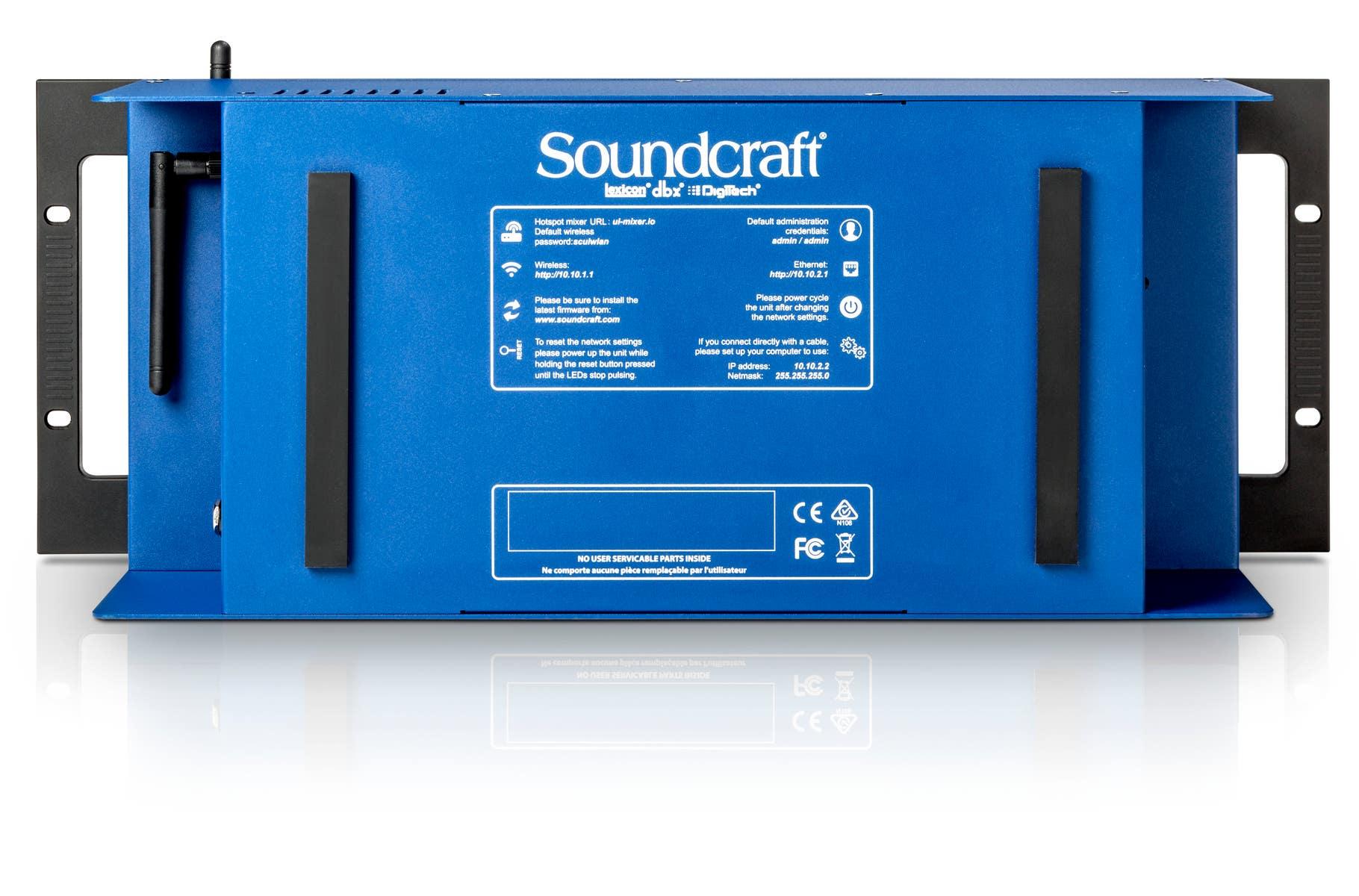 Soundcraft Ui24R 24-channel Digital Mixer