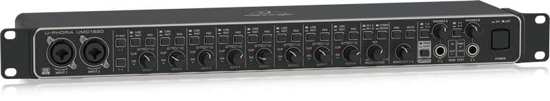 Behringer UMC1820 Audio Interface w/MIDAS Preamps