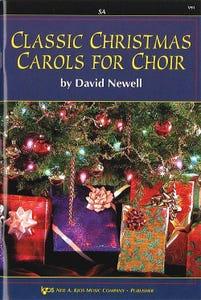 classic christmas carols for choir - satb / NEWELL (KJOS)