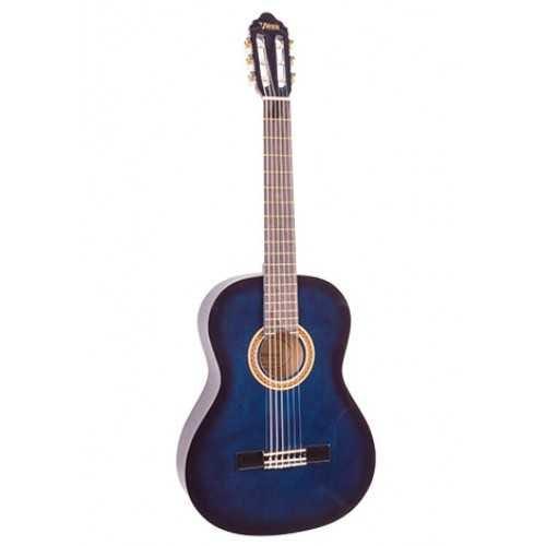 Valencia VC103 3/4 size Classical Guitar - Blue Sunburst