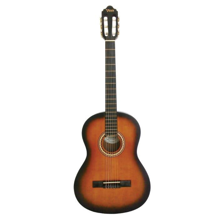 Valencia VC204CSB 4/4 Classical Guitar - Classic Sunburst