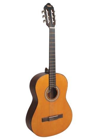 Valencia VC204H Hybrid 4/4 Classical Guitar - Natural
