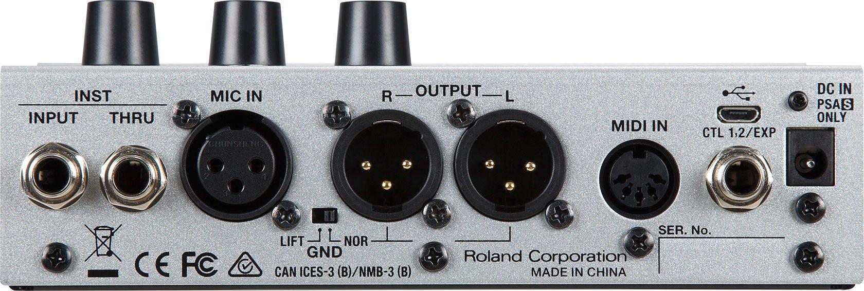 Boss VE-500 Vocal Performer Pedal (VE500)