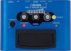 Boss VE-1 Vocal Echo Effect Pedal (VE1)
