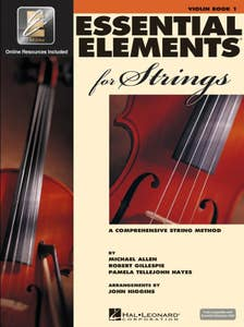essential elements for strings BOOK 1 - violin /  (HAL LEONARD)