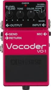 Boss VO-1 Vocoder Pedal (VO1)