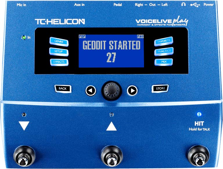 TC Helicon VoiceLive PLAY Vocal Effects/Harmony Processor