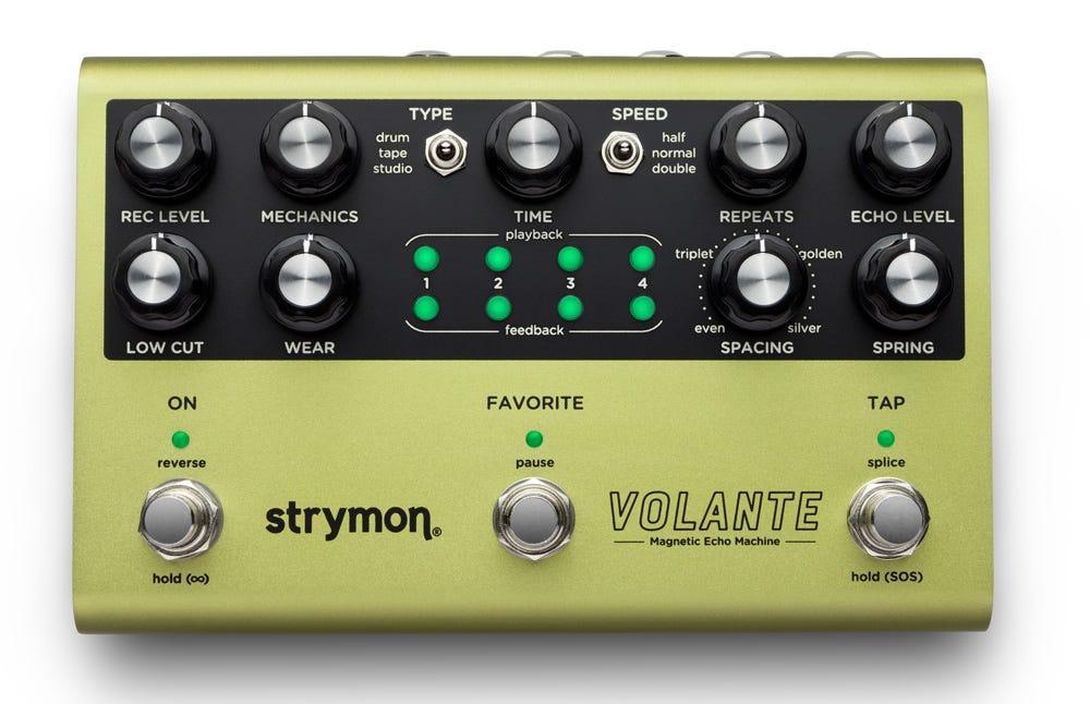 Strymon Volante Magnetic Echo Machine Delay Pedal