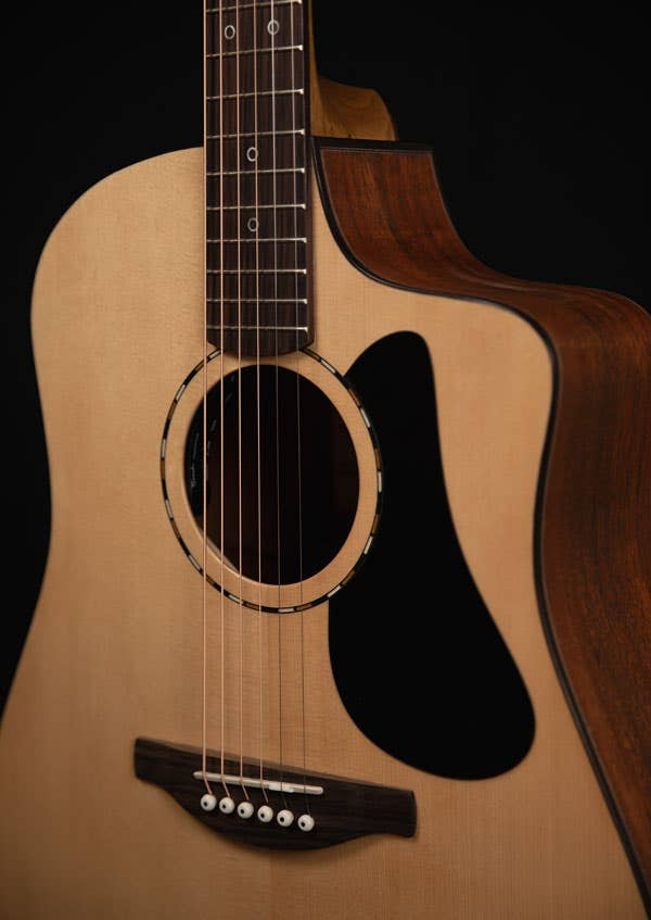 Fenech Guitars VT D-78 Acoustic Electric Guitar w/Case - AA Sitka Spruce + NG Rosewood