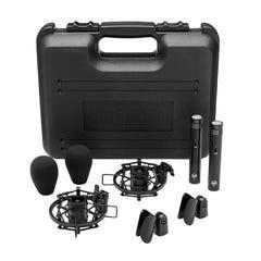 Warm Audio WA84 Small Diaphragm Condenser Microphone - Black - Pair