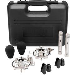Warm Audio WA84 Small Diaphragm Condenser Microphone - Nickel - Pair