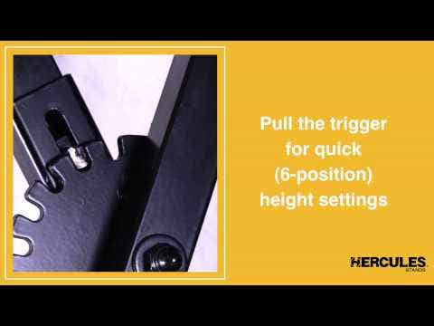 Hercules KS118B Travlite X-Keyboard stand