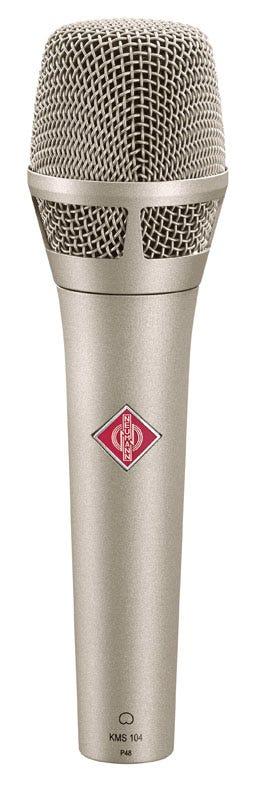 Neumann KMS104 Stage Condenser Microphone - Nickel