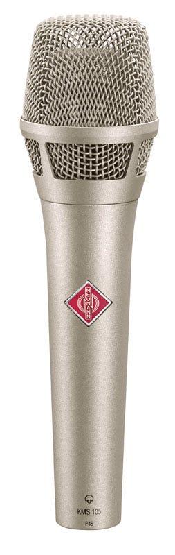 Neumann KMS105 Stage Condenser Microphone - Nickel