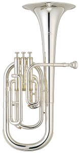 Yamaha YAH203S Standard Alto/Tenor Horn (YAH-203S)