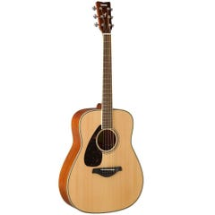 Yamaha FG820NT-L Left-Handed Acoustic Guitar - Natural